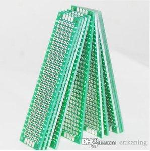 2 X 8 10pcs Prototipos PCB placa de circuito PCB Board PCB Placa protoboard universal de precios Stripboard Prototipos Veroboard lateral doble