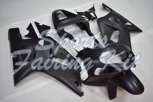 Пластиковые обтекатели для GSXR600 GSXR750 GSXR1000 2000 - 2003 К1-2 Matter Black GSX R600 R750 R1000 2000 Plastic зализ 2003