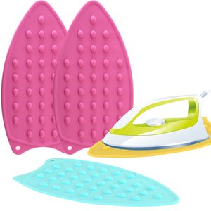 Silicone Iron Hot Protection Rest Pad Mat Safe Surface Iron Stand Mat Rest Ironing Pad Insulation Boards