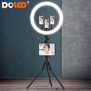 Big Photographic Ring Light 18 inch Ringlight with Stand for Photo Studio Lighting YouTube Live Stream TikTok Video Selfie