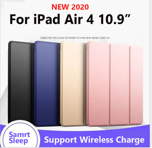Smart Stand Case For iPad Air 4 10.9 inch 2020 A14 10.2 inch Case Strong Case