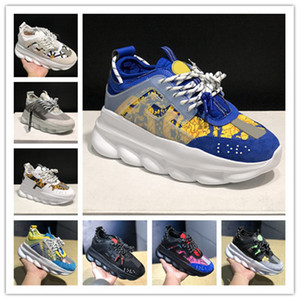 Hochwertige Mode-Plattform-Schuhe Frau Männer echtes Leder-Patchwork Breathable Turnschuhe schuhe Outdoor-Walking-Trainer