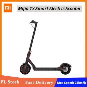 Xiaomi Mijia Электрического самокат 1S Мини Смарт E скейтборд Scooter Складной Longboard 30ой батарея для взрослых
