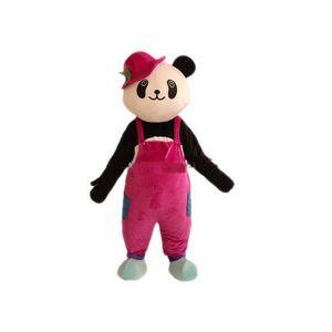 2020 Factory sale hot panda Mascot Costumes Cartoon Character Adult Sz