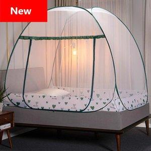 Instalação banda porta Folding prateleira Rede 2020 Bed gratuito Net Incluir Mongólia Mosquito Berth Nets viagens único saco yYkew