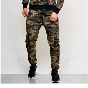 조깅 남성 스웨트 팬츠 슬림핏 2020ss 남성 바지 패션 위장 색상 느슨한 바지 스포츠 연필 Pantalones