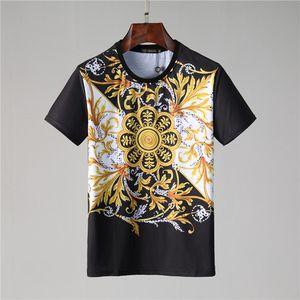 20SS designerMens T-shirt Hommes Femmes Couples Casual manches courtes pour hommes T-shirts col rond 7 couleurs M-3XL