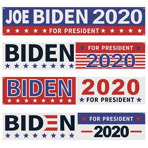 Biden Bayrak ABD Başkanlık Kampanya Bayrağı 250 * 48 CM Biden Amerikan Seçim Banner Bayrak Ücretsiz Kargo DHE796 Malzemeleri