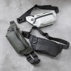 Waterproof Men Waist Bag Fanny Pack Fashion Running Chest Bag Unisex Sling Crossbody Bag Casual Hip Belt Women Waist Packs