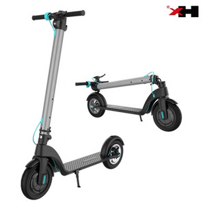 2019 X7 original HX X7 foldable aluminum suspension smart new cheapest scooters Four-wheel Scooter Applicable People MEN
