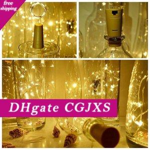 2020 Bouteille de lumières de la bouteille Lumières Cork forme pour 1m 10 Led Bouteille de vin Chaîne Party Romantique Home Decor Led lumières T6 #