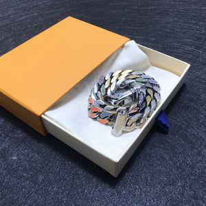 Best Selling Fashion Halskette Männer und Frauen Halskette Modischer wilder Halsketten-Qualität Titan Stahl Statement Senden Box