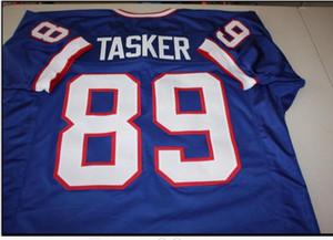 las mujeres de Hombres jóvenes Vintage # 89 Steve Tasker COSIDO COSIDO tamaño AFC campeón del fútbol Jersey s-5XL o costumbre cualquier nombre o el número del jersey