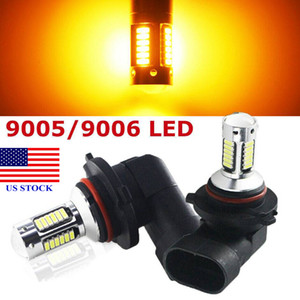 LED Scheinwerfer-Nebel-Glühlampe 9006 HB4 Abblendlicht 3000K Goldgelb High Power A0005 US STOCK