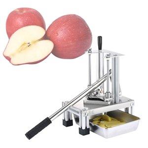 CE Vertical cortador de batata pressão da mão para Fries pepino máquina de corte chips cortador de batata tiras de batata máquina manual de corte