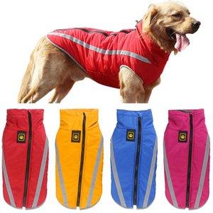 Перро Retriever Pitbull Ropa для пальто ветрозащитный De Big Большой Pet куртки Светоотражающие Одежда для собак Одежда собак Mascota Golden NDjee