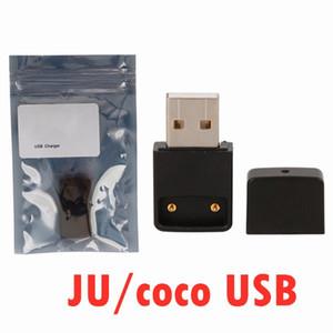 COCO USB Charger sigaretta e magnetica di collegamento caricabatterie USB per Ju ul COCO portatile fumare Vape Pen Pods Starter Kit v2 DHL