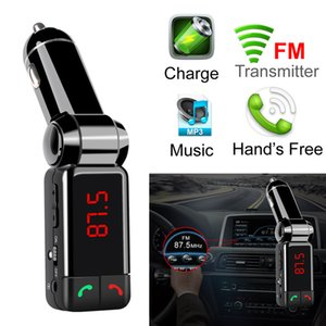 BC06 BT Bluetooth Multi-function Car Charger MP3 MP4 Player Mini Dual Port AUX FM Transmitter Adapter Audio Player Handsfree Car Kit