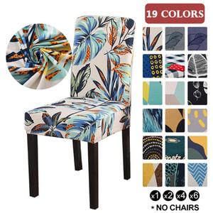 Capas de cadeira Spandex 19 cores Desk assento Protector Slipcovers assento para Hotel Banquete de Casamento Universal Tamanho 1PC