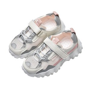 Girls boys Mesh Breathable sports casual Shoes autumn Kids Soft Bottom sneakers Childrens Flats Shoes 5 6 7 8 9 10 -13 Years