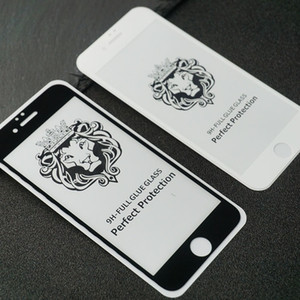 Aslan Kral Tam Ekran Koruyucu temperli cam için Iphone 11 Pro Xs Max Samsung Galaxy M10s M30S A70s A30s 10-paketleri filmi