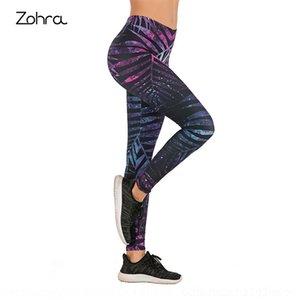 BGA3Z Zohra calças digitais leggings Zohra das mulheres apertadas calças apertadas 3D Digital 3D impresso impresso leggings das mulheres