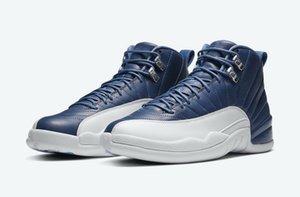 Sıcak Jordon Box 2020 erkek Ston Legend Mavi Obsidian Basketbol ayakkabı mağazası US7-US 13 ile satılık 12 İndigo ayakkabı