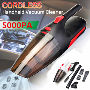 Car Vacuum Cleaner Portable Handheld Cordless Car Plug 120W Dual-Use Cleaner Wet Dry Vaccum Cleaner for Car Home