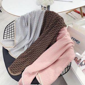 2020 новый 3-х цветов рождения младенца вязать свитер одеяло Мальчик мягкий 100% хлопок Дети Девочки Младенец зимы Одеяло 100х100см Вершин