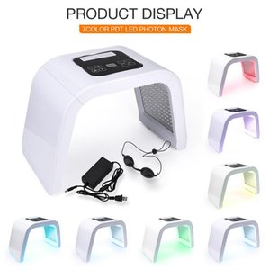 NEW Professional Photon PDT Led Light Facial Mask Machine 7 Colors Acne Treatment Face Whitening Skin Rejuvenation Light Therapy Machine