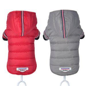 Chihuahua Roupa pequena roupas para cachorros Inverno Pet jaqueta e Brasão ropa impermeável para perros para capa Small Dog Medium