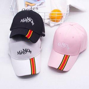 ZyvR3 kadın siyah bahar ve yaz İngiliz beyzbol Cornice şapka Sokak Kore tarzı uzun kişilik kap beyzbol bant kavisli hepsi maç