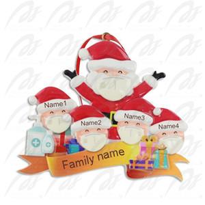 Weihnachtsschmuck 2020 Weihnachtsdekorationen Außenhandel Maske alter Mann Anhänger Weihnachtsbaum Harz Schneemann Anhänger