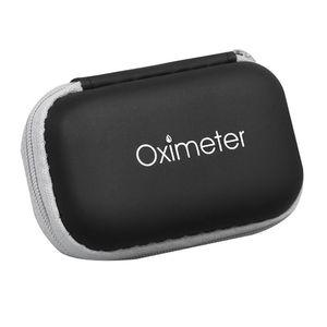Storage Case Fingertip 1pc Bag Zipper Blood Pouch Carry Kit Hard Oximeter Pulse Box Eva Cover IksFh yh_pack