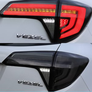 1 Paar Car Styling Dynamiksignal Rückleuchten LED Rückleuchten Heckleuchte für Honda HRV HRV 2014-2019 Rückleuchten
