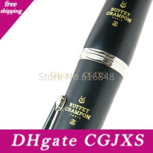 Buffet E11 Nouveau 17 Clés clarinette si haute qualité bakélite noir ébène Tube clarinette Instruments de musique avec étui Livraison gratuite