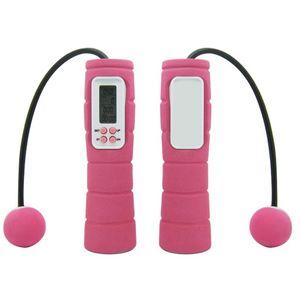 Neu Digital Wireless Cordless Skipping Seilspringen Kalorienzähler Fitness