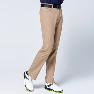 Automne Hiver coupe-vent hommes Pantalons de golf épais garder au chaud Pantalon long haute stretch Cadrage en pied Pantalon de golf Vêtements D0651 NwpV #