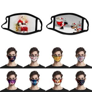 Nueva Navidad mascarilla máscara a prueba de polvo fiesta máscara transpirable se puede lavar y reutilizar w-00156