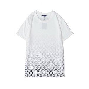 2020 Neue Mens-T-Shirts beiläufige Art und Weise T-Shirt Männer-T-Shirts Tops Medusa Blumenbuchstabe-Drucken Witzige T Shirts Kurzarm-T-Shir