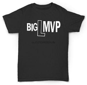 BIG L T 셔츠 MVP DIAMOND D 언더 그라운드 힙합 RAP DJ 프리미어 갱 스타 DITC