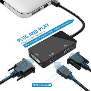 Cavo Port Adapter Mini DP HDMI DVI VGA Mini display per Apple Mac Book Pro Air Monitor mini adattatore DisplayPor