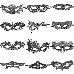 Sexy Party dentelle masques mascarade Masques Halloween Party cosplay Catwoman Eye Maske Carnaval balle Face Femmes Carnaval Prop DHF655 Masque