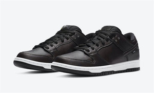 2020 Release Otantik Civilist Sneakers ile Kutusunu Running SB Dunk Siyah Düşük Çok Renkli Erkek Kadın Kaykay Ayakkabı Spor x