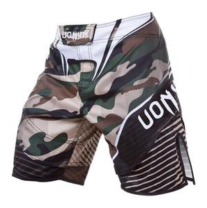 merci-MMA nuovo modo di qualità UFC Santa Muerte 2.0 LOTTA CORTI -mma Muay Thai / Pugilato Sport Camo Pantaloni TRUNKS Beach Shorts Pantaloncini da bagno