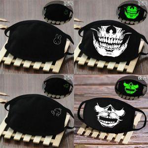 Amerika Glow Skeleton dunkle spätesten reizenden Schädel Spuk Maske Half Off America In Lächeln Spooky HUwCh outlet2000