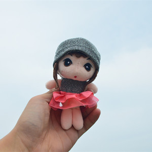 Beauty Plush Dolls Cute Keychains Pendant Girls Toys Gifts 2020 Hot Sale Keyring