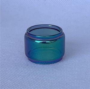 Burbuja tubo de extensión del arco iris de cristal Para GeekVape Zeus subohm Dual X Mesh Alfa 4 ml 5,5 ml 4,5 ml de reemplazo RTA tanque Fatboy convexo