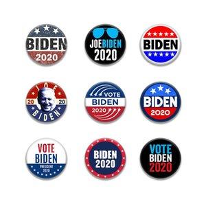 Vente en gros Mode Biden élection présidentielle unisexe Femmes Hommes adultes Tinplate Badge DHL insigne Broche Livraison gratuite DHF1441