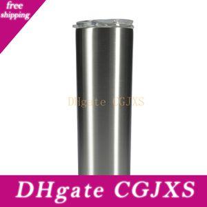 15 Ons Sıska Drinkware ile Kapaklar 304 Paslanmaz Çelik Çift Duvarlar Vakum Bardaklar Ücretsiz Kargo Su Kavanoz